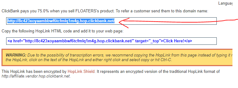 copy link affiliate