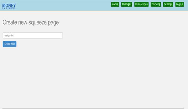 hướng dẫn đặt tên squeeze page