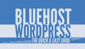 hướng dẫn sử dụng bluehost