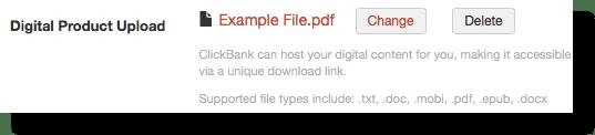 hướng dẫn xoá tài liệu nội dung trên clickbank
