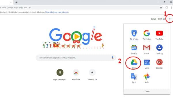 Cach Dang Nhap Google Drive