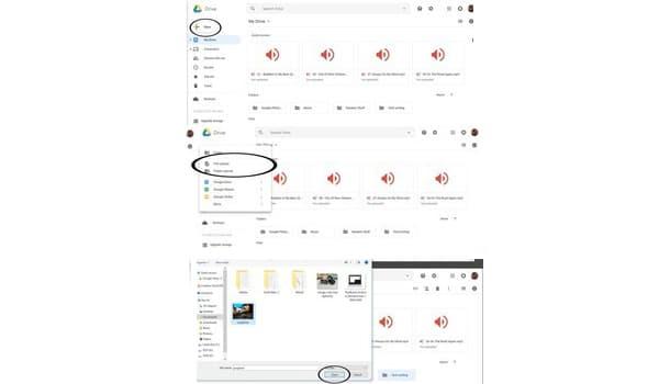 Cach Tai Tai Lieu Folder Len Google Drive