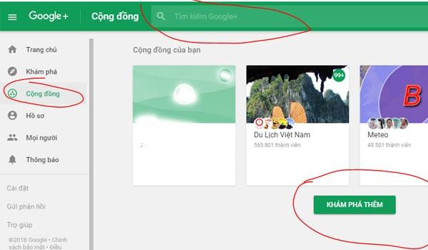 Huong Dan Tham Gia Cong Dong Google Plus