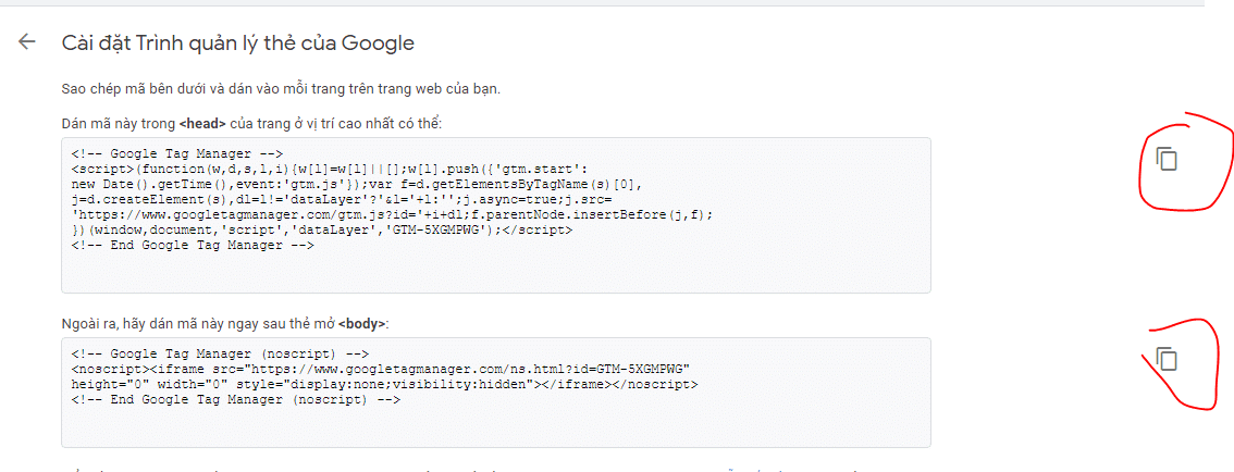 Cop Code Google Tag Manager
